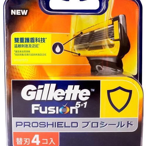 吉列Fusion Proshield基本刀片4片