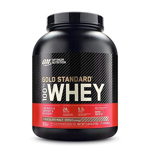 ON100%黃金標準乳清巧克力麥芽-5磅