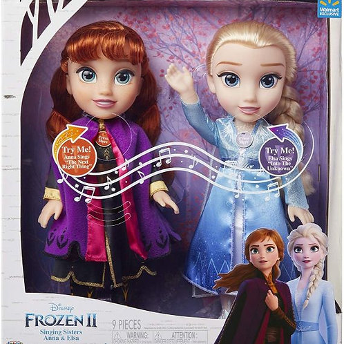 Frozen 2 - Singing Sisters - 2 pack