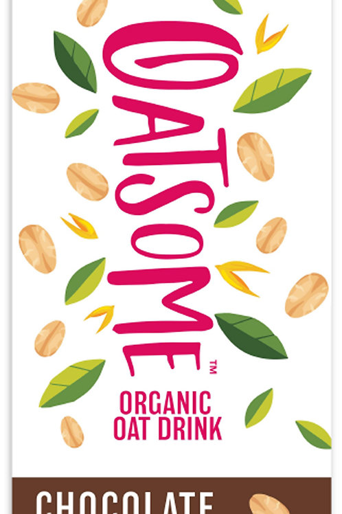 Oatsome Organic Oat Drink (No Added Sugar) - Chocolate - 1L x 2