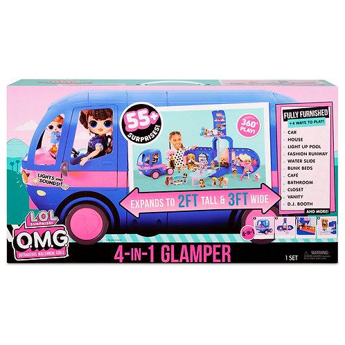 L.O.L. Surprise! 4-In-1 Glamper (Electric Blue)