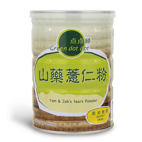 Green DOT DOT Yam & Job's Tears Powder -400g