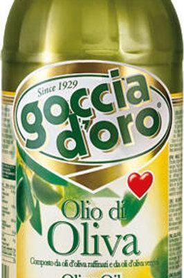 綠色DOT DOT Goccia D'Oro純橄欖油(1升)