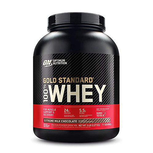 ON 100% Gold Standard Whey Extreme Milk Chocolate - 5lbs