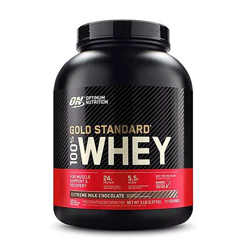 ON  100%黃金標準乳清至尊牛奶巧克力-5磅