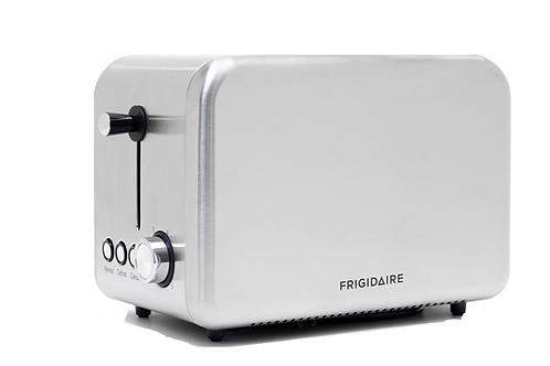 Frigidaire 2 Slice Toaster - Silver Grey