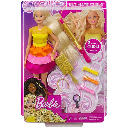 芭比娃娃Ultimate Curls™Doll and Playset