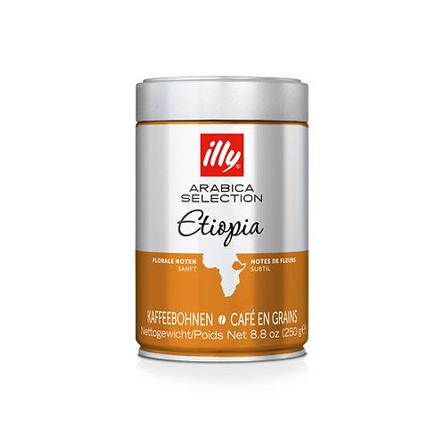 illy Whole Bean Arabica Selection Ethiopia Coffee - 250gms