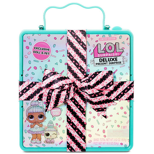L.O.L. Surprise! Deluxe Present Surprise - Assorted (Teal)