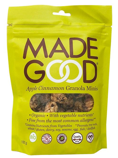 Madegood Organic Apple Cinnamon Granola Minis - 100g x 2