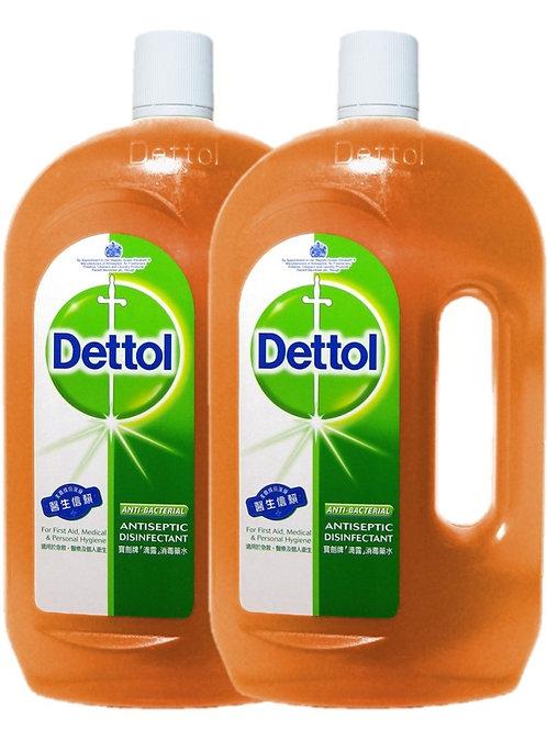 Dettol消毒殺菌劑1.2公升裝
