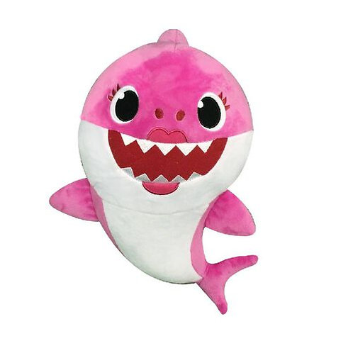Pinkfong-鯊魚家庭聲樂娃娃-瑪莎媽媽