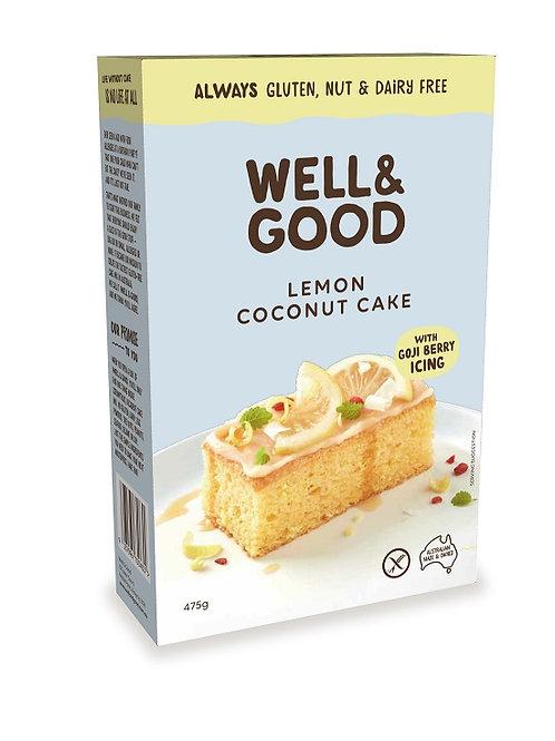 Well&Good防過敏檸檬椰子蛋糕粉和枸杞糖(475g)
