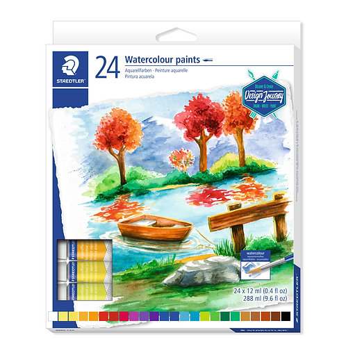 Staedtler Karat Watercolor Paint 24