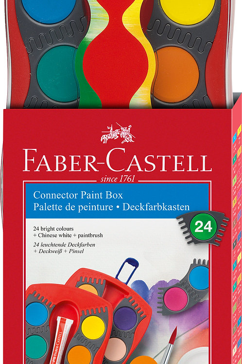 Faber Castell Connector Paint box 24