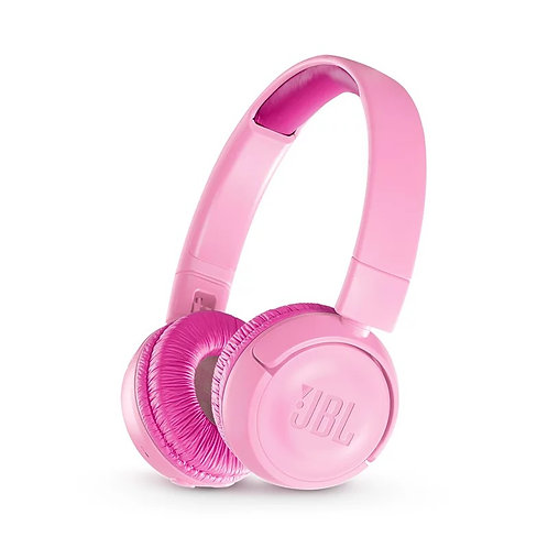 JBL Wireless On Ear Headphones JR 300BT (Pink)