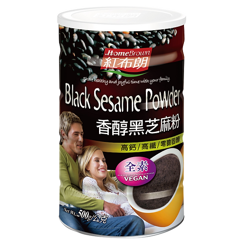 Home Brown Black Sesame Powder  (No added sugar) 500g