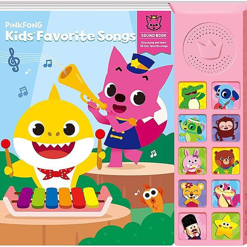 Pinkfong-兒童最愛歌曲原聲書