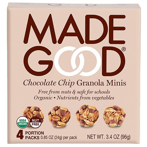 Madegood Organic Chocolate Chips Granola Minis - 96g x 3
