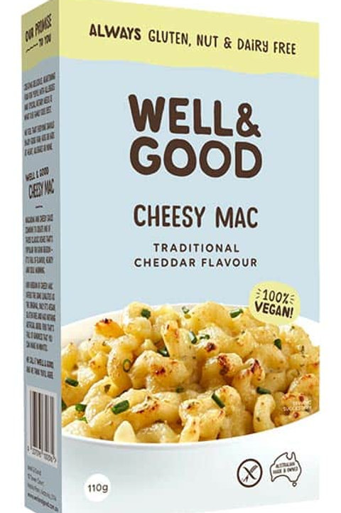 Well & Good Cheesy Mac - 110g