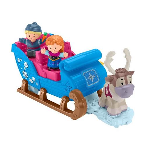 迪士尼《冰雪奇緣》克里斯蒂夫的小人雪橇