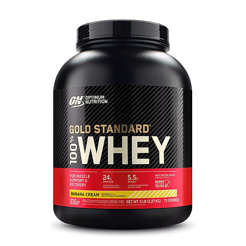 ON 100% Gold Standard Whey Banana Cream - 5lbs