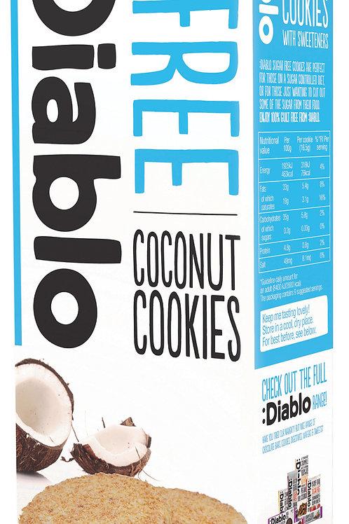 Diablo Sugar free Coconut cookie - 150g x 3