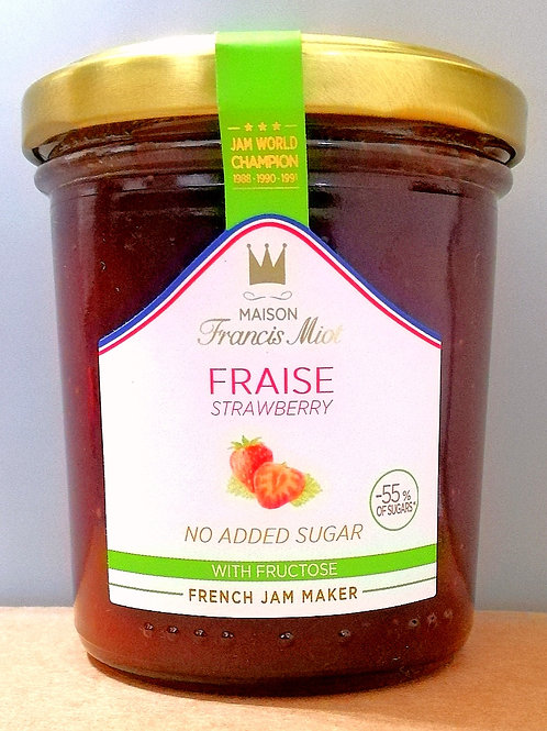 Maison Francis Miot Strawberry (No Sugar Added)-200g