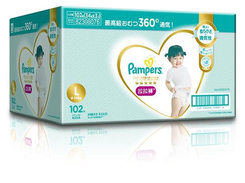 Pampers Ichiban Pants L (34SX3) (Club Pack)