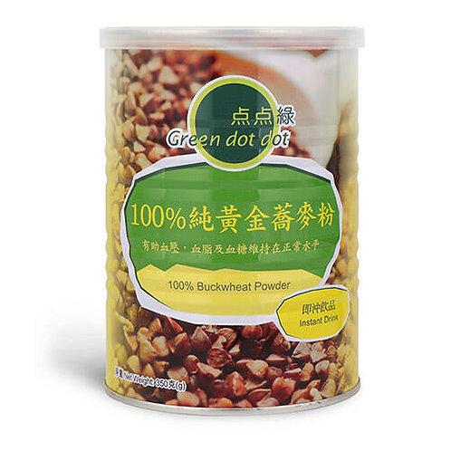 綠色DOT DOT 100%純金蕎麥粉-350g