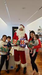 So many gifts by Santa!!