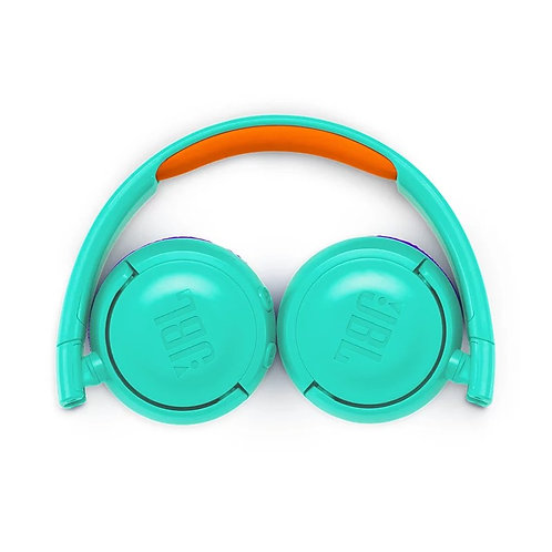 JBL Wireless On Ear Headphones JR 300BT (Teal)