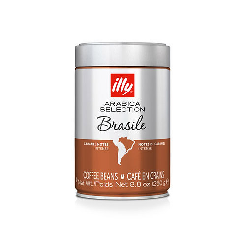 illy Whole Bean Arabica Selection Brazil Coffee - 250gms