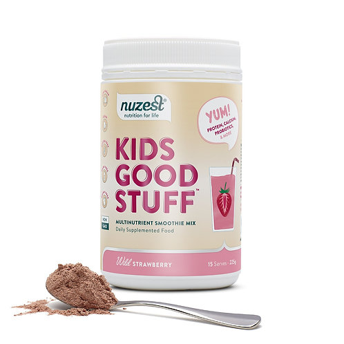 Nuzest - Kids Good Stuff (Wild Strawberry) - 225g