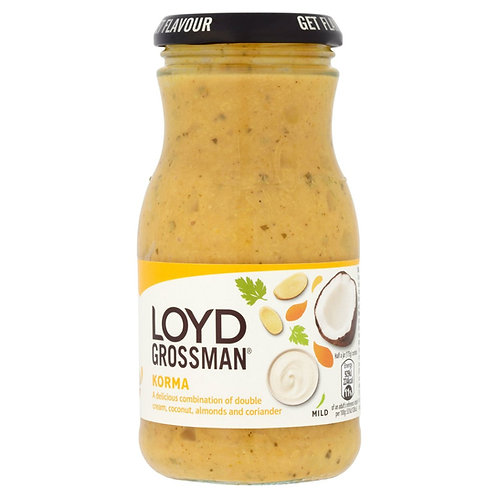 Lloyd Grossman Korma Sauce (350g)