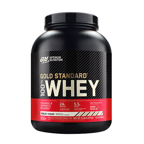ON 100% Gold Standard Whey Rocky Road - 5lbs