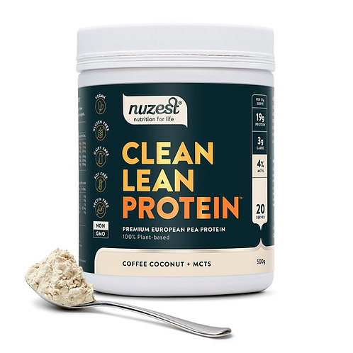 Nuzest - Clean Lean Protein (Coffee Coconut + MCTS) - 500g