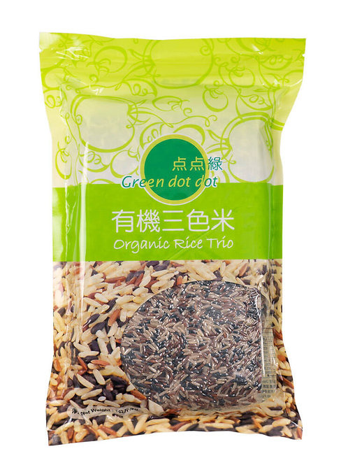 Green DOT DOT Organic Rice Trio - 1kg