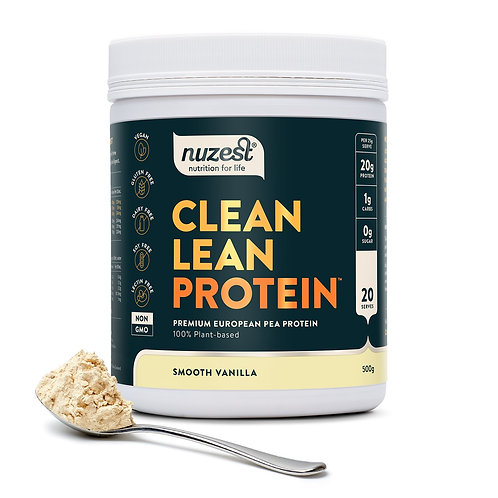 Nuzest - Clean Lean Protein (Smooth Vanilla) - 500g