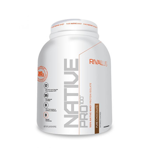 Rivalus Native Pro 100 Rich Chocolate - 2.5lbs