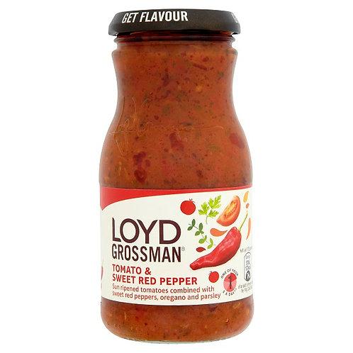 Lloyd Grossman Tomato & Sweet Red Pepper Sauce (350g)