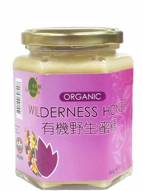 Green DOT DOT Little Green Organic Wild Honey (360g)