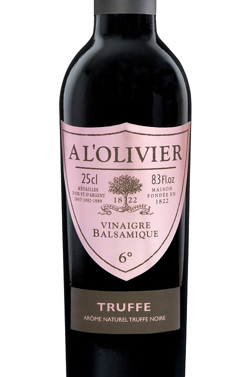 A L'olivier Balsamic Vinegar with Truffle (250g)