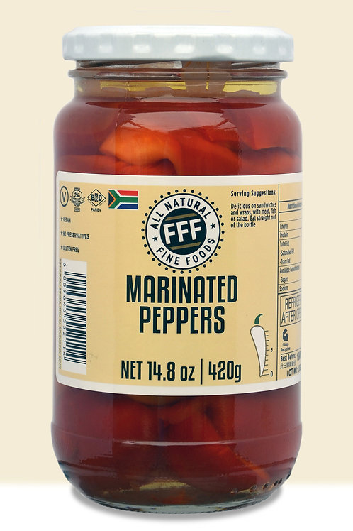 FFF Marinated Peppers (420gms)