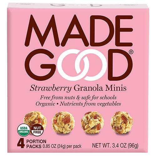 Madegood有機草莓格蘭諾拉麥片-96克x 3