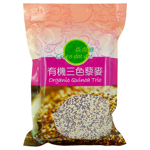 Green DOT DOT Little Green Organic Tricolor Quinoa (500g)
