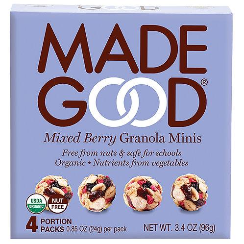 Madegood Organic Mixed Berries Granola Minis - 96g x 3