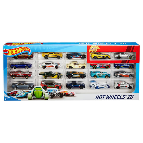 Hot Wheels Basic 20 Cars Pack