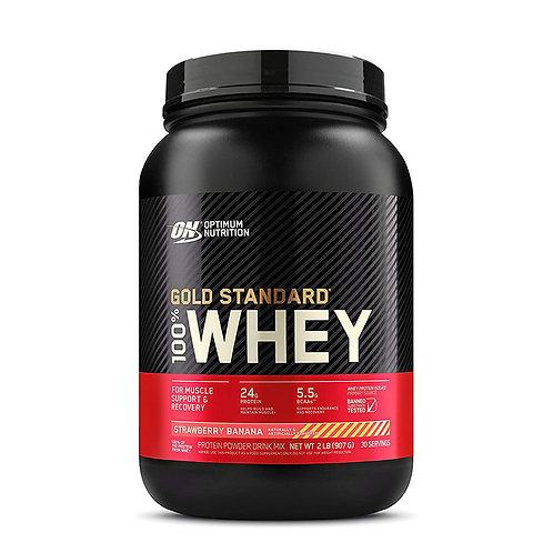 ON 100% Gold Standard Whey Vanilla Ice Cream - 2lbs