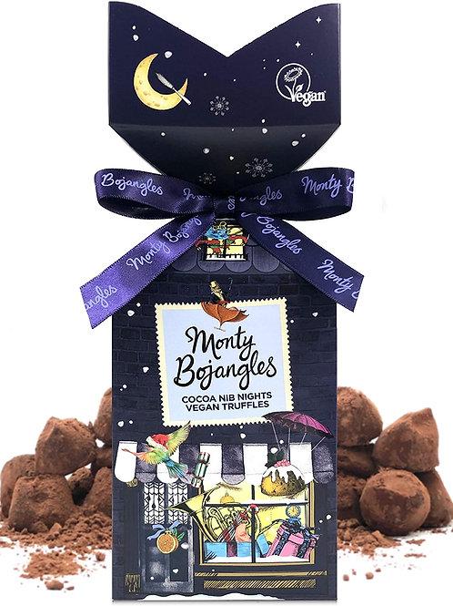 Monty Bojangles Cocoa Nib Nights Truffle Tip Top Gift - 130g